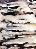 DW-abstrakt begreppsvart och brunt målad bakgrund Royaltyfri Bild