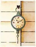 DW Clock 1 stock image