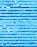 DW-ljus - blå träbakgrund Royaltyfri Foto