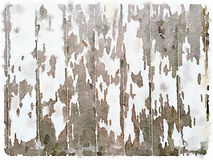 DW witte houten geschilderde achtergrond Stock Foto's