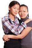 Dwa azjata kobieta Obrazy Stock