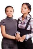 Dwa azjata kobieta Zdjęcia Stock
