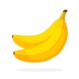 dwa banany! Obrazy Royalty Free