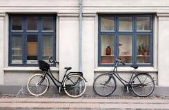 Dwa bicyklu zdjęcie stock