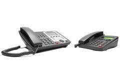 Dwa biurowy telefon Fotografia Royalty Free