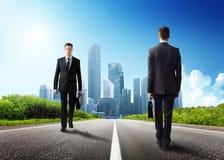 Dwa biznesowego mężczyzna Fotografia Royalty Free
