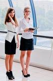 Dwa biznesowej kobiety Fotografia Stock