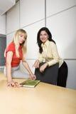 dwa bizneswomanów pracy Obraz Stock