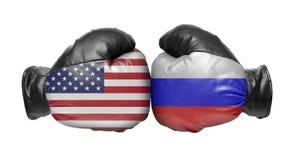 Dwa bokserska rękawiczka fotografia royalty free