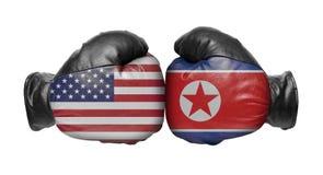 Dwa bokserska rękawiczka obraz royalty free