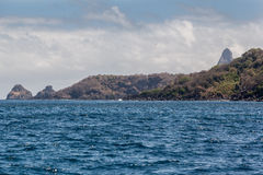 Dwa braci Fernando De Noronha wyspa Obraz Royalty Free