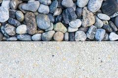 Dwa brzmień tła kamień 1 i piasek Obrazy Royalty Free