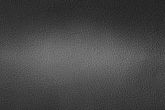 Dwa brzmienie Czarny rzemienny texturebe używać jako tło Zdjęcie Royalty Free