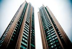 dwa budynki Zdjęcie Royalty Free