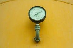 Dwa ciśnieniowy manometr Obraz Stock