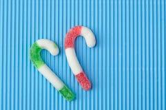 dwa cukiereczka Obrazy Stock
