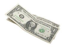 Dwa dolara Obrazy Stock