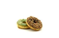 Dwa donuts Obrazy Royalty Free