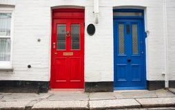 Dwa drzwi. Obrazy Stock