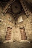 Dwa drzwi przy Nowym meczetem Obrazy Royalty Free