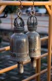 Dwa dużego dzwonu w Wat świątyni w Chiang Mai, Tajlandia Obrazy Stock