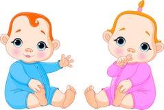 Dwa Dziecka Zdjęcie Royalty Free