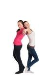 Dwa dziewczyny Obraz Royalty Free