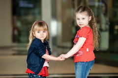 Dwa dziewczyny. Obrazy Royalty Free