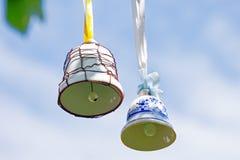 dwa dzwony Obrazy Royalty Free