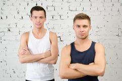 Dwa faceta i zdrowego styl życia Fotografia Royalty Free