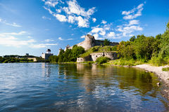 Dwa fortecy Zdjęcie Royalty Free