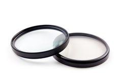 Fotograficzni filtry Zdjęcia Stock