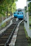 Dwa funicular w Kijów Obrazy Stock