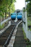 Dwa funicular w Kijów Fotografia Royalty Free