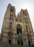 Dwa górują katedrę w Europa Zdjęcie Stock