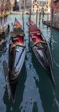 Dwa Gondola Obrazy Royalty Free