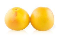 Dwa grapefruits zdjęcia stock