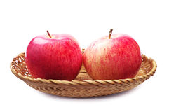 Dwa jabłka Fotografia Royalty Free