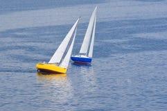 dwa jachtu Zdjęcie Royalty Free