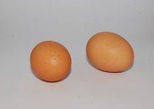 dwa jajka Obrazy Royalty Free