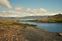 Dwa jeziora w widoku Obrazy Stock