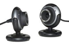 dwa kamera internetowa Obraz Stock