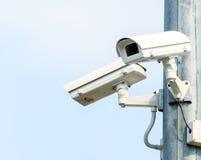 Dwa kamery bezpieczeństwa, CCTV kamera Zdjęcie Stock