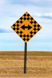 Dwa kierunku znak Zdjęcia Royalty Free