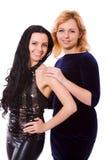 dwa kobiety zdjęcie royalty free