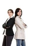 dwa kobiety Zdjęcia Royalty Free