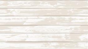 Dwa kolorów Biała Bezszwowa Drewniana tekstura royalty ilustracja