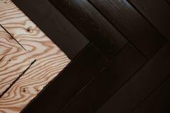 Dwa kolorów drewniany tło fotografia royalty free
