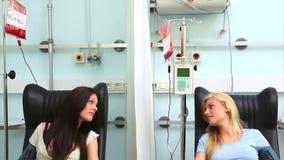 Dwa krwionośnych dawców opowiadać zbiory