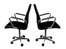 dwa krzesła Fotografia Royalty Free